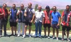 رماية: طليع بو كامل بطل المرحلة الرابعة من بطولة لبنان للتراب الفئة(أ) ممتاز