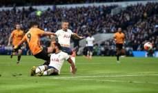 وولفرهامتون يقلب الطاولة على توتنهام ومانشستر يونايتد يتعادل مع ايفرتون