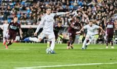 علامات لاعبي مباراة ريال مدريد وسيلتا فيغو