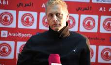 هالغريمسون : العربي قدم شوطين مختلفين امام السيلية