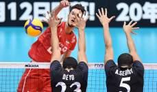 مصر تخسر بصعوبة أمام كندا بمونديال الطائرة باليابان