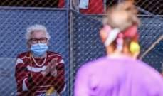 نادال يتسجيب لرغبة سيدة مسنة رغم خروجه من بطولة مدريد