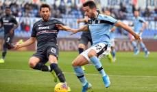 الدوري الايطالي: لاتسيو يضرب سامبدوريا بخماسية