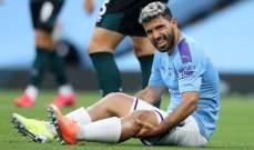 غوارديولا: اغويرو سيخضع لعملية جراحية ولا نعلم متى سيعود