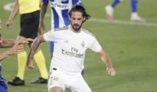 ايسكو يغيب عن بداية موسم ريال مدريد