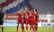 بايرن ميونيخ ينعش حلم الثلاثية ويتأهل الى نهائي كأس المانيا
