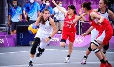 طوكيو 2020: ابرز نتائج مباريات 3×3 بكرة سلة