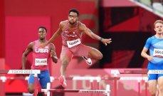طوكيو 2020 : القطري صامبا في نهائي سباق 400 متر حواجز