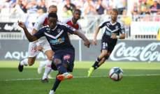 الليغ 1 : صامويل كامانو يهدي بوردو فوزاً ثميناً على ضيفه موناكو