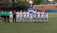 ناشئات لبنان خارج بطولة آسيا لكرة القدم 2019