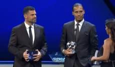 فان دايك يسيطر على جوائز اوروبا ويصبح افضل لاعب في القارة العجوز