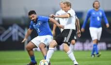 مباراة اساطير المانيا وايطاليا تنتهي بالتعادل الايجابي