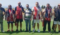 رماية: أكرم حماده بطل المرحلة الأولى من بطولة لبنان