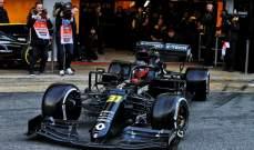 الصور الاولى لسيارة فريق رينو