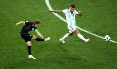 مودريتش : لعبنا مباراة مثالية أمام الأرجنتين