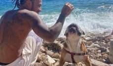هاميلتون يعتمد حمية نباتية مع كلبه