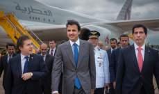 امير قطر يلتقي رئيس اتحاد اميركا الجنوبية لكرة القدم