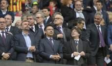 برشلونة يفتقد رئيسه في موقعة ليون