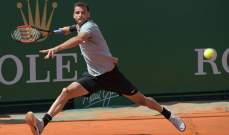 بطولة برشلونة للتنس : ديميتروف الى ربع النهائي