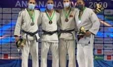 مصر تتوج بلقب بطولة افريقيا للجودو