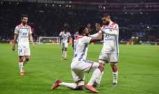 باريس سان جيرمان يخسر أمام ليون في غياب نيمار وأمام أنظار سولسكاير