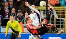 هل تذكرون الهدف الخيالي للفرنسي ميكسيس في دوري الأبطال؟