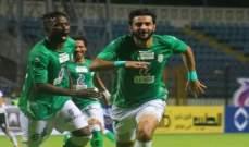الدوري المصري: فوز صعب للاتحاد السكندري على الجونة
