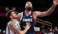 فرنسا الى نصف نهائي كرة سلة طوكيو 2020