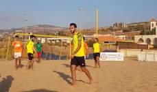 بيروت وشباب الجناح الى نهائي البطولة الشاطئية