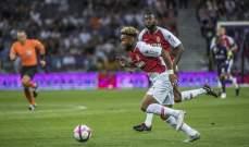 الليغ 1 : موناكو يكتفي بالتعادل امام تولوز، وفوز مهم لـ انجيه وليل