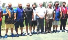 رماية:جوزف حنا بطل المرحلة الثالثة من بطولة لبنان للتراب الفئة (أ)