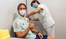 لاعبو منتخب اسبانيا يتلقون اللقاح ضد كورونا