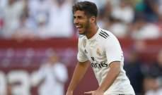 ريال مدريد يتخلى عن اسينسيو لعيون ثنائي تشيلسي