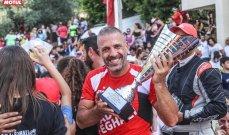 روجيه فغالي يحرز لقب سباق تسلق الهضبة من تنظيم ال ATCL
