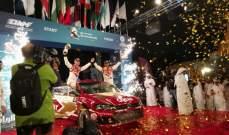 ناصر العطية يواصل تألقه ويتصدر رالي قطر الدولي