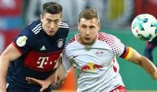 كأس ألمانيا: لايبزيغ على بعد نهائي من لقب أول في تاريخه القصير