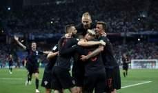 ابرز احصاءات مباراة الارجنتين وكرواتيا