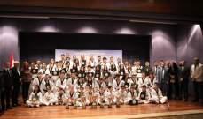 مدرسة الأبطال في التايكواندو تحرز سبع القاب من اصل ثماني في بطولة لبنان