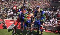 ماركيز يتوج بسباق جائزة كتالونيا