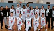 سيدات بيروت يتوجن بلقب بطولة الاندية العربية للمرة الاولى