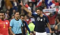 لينغليت سعيد بتسجيله اول اهدافه الدولية في مرمى اندورا
