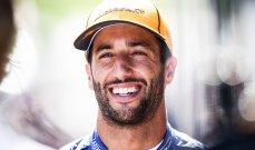 ريكياردو يعبّر عن خيبة امله بعد الغاء سباق استراليا