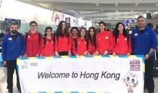 نتائج بعثة لبنان بالعاب القوى في بطولة آسيا الثالثة للناشئين