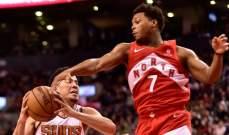 NBA: دنفر وتورنتو يعودان الى سكة الانتصارات