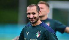 رقم مميز لـ كيليني مع منتخب ايطاليا