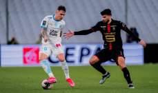 الليغ 1: مارسيليا يعزز موقعه بفوز ثمين امام رين