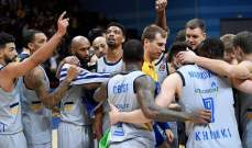 الدوري الاوروبي لكرة السلة: خيمكي موسكو يسقط المتصدر فنربخشة