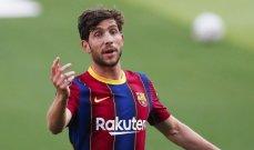 برشلونة يتراجع عن قراره بشأن روبرتو