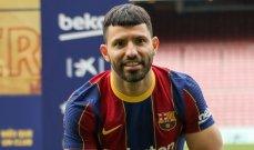 برشلونة غير قادر على تسجيل اغويرو غارسيا وديباي على لوائحه