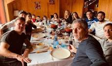 ميسي يرتاح مع العائلة خلال العطلة الدولية